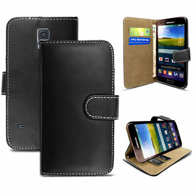 Samsung Galaxy S6 Case Flip PU Leather Cover Book Stand Wallet Card