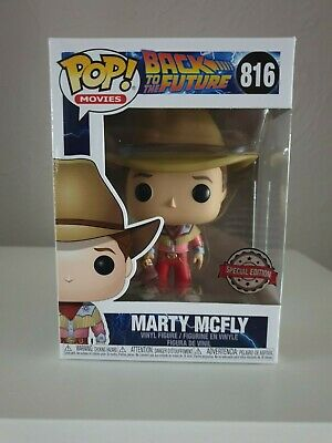 Funko Pop!- Back To The Future - Marty McFly Cowboy Outfit