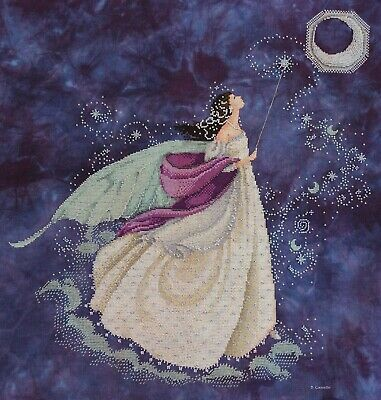 Fairy Moon cross stitch chart