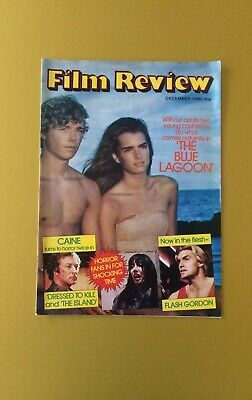 Film Review Magazine December 1980 The Blue Lagoon Cover