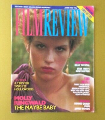Film Review Magazine June 1988 Molly Ringwald Maybe Baby Cover
