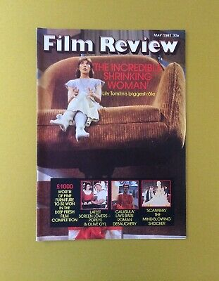 Film Review Magazine May 1981 Incredible Shrinking Women Cover Popeye
