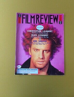 Film Review Magazine September 1986 Christopher Lambert Highlander Cover
