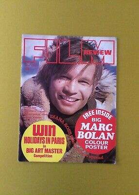 Film Review Magazine May 1973 Michael York Cover Diana Ross