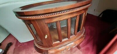 Antique Vintage Art Deco French Drinks Mahogany Cocktail Cabinet