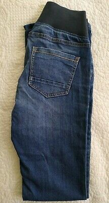 NEXT Maternity Jeans, Size 8L (Under Bump)