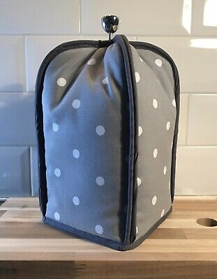 Cafetiere Cover - 8-12 cup - Dotty Spot - Grey