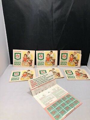 Lot Of Vintage S & H Green Stamps Stamp Saver Books Sperry and Hutchinson