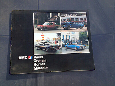 AMC PACER GREMLIN HORNET MATADOR - genuine commercial of the seventies -