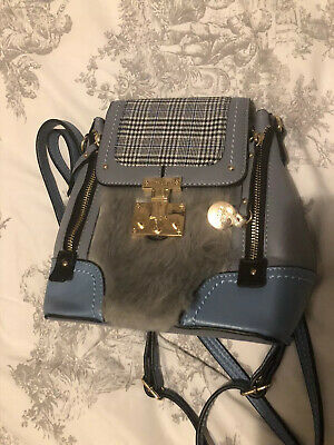 Brand New River Island Girls Pale Blue Bag