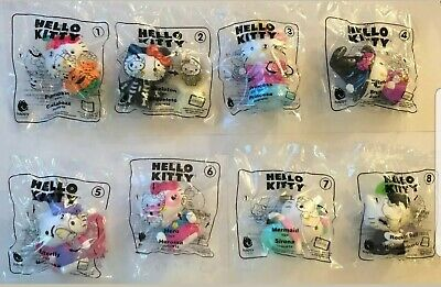 2019 McDonalds Happy Meal Toys **HELLO KITTY** SET OF 8 *IN STOCK*