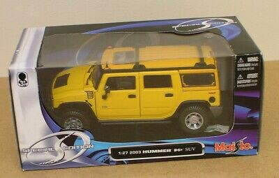 Maisto Special Edition 2003 Hummer Die-Cast Model 1:27 Scale Opening Doors