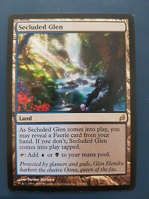 Secluted Glen Lorwyn MTG Magic the gathering. New, never played