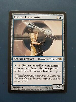 Master Transmuter Conflux. New, never played. Magic the gathering MTG