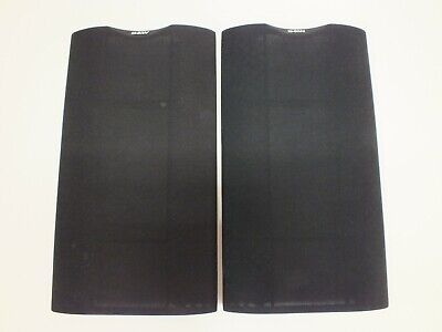 Pair of B&W Bowers & Wilkins DM601 S2 Grill Covers / Frets