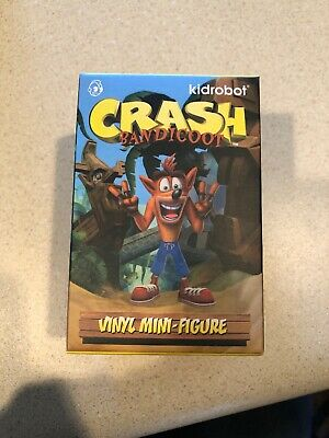 Crash Bandicoot Vinyl Blind Box Figure Kidrobot Mini Series Mystery CHOP