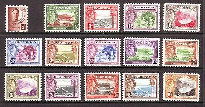 Dominica 1938 Set M/Mint