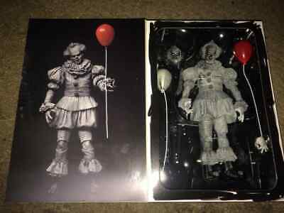 "2019 SDCC NECA It 2017 Movie Etched Pennywise Clown 7"" Brand New Sealed"