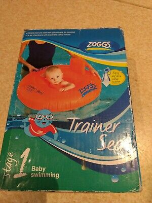 Baby Swimming Ring - Zoggs Inflatable Trainer Seat Size 1 3-12 Months