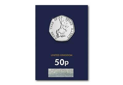 2017 Peter Rabbit 50p Fifty Pence Coin Brilliant Uncirculated BUNC
