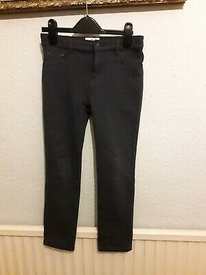 Girls Fat Face navy trousers aged 9 - good condition