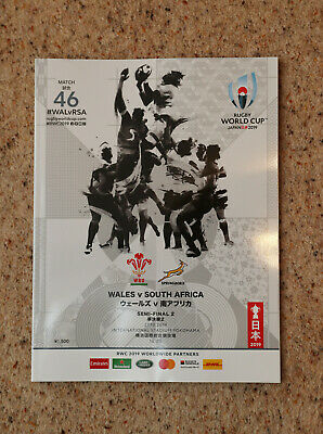 Wales v South Africa Rugby World Cup Programme 2019