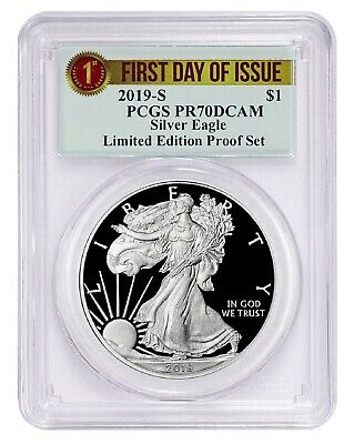 2019 S Limited Edition Silver Proof Eagle PCGS PR70 DCAM- First Day Issue