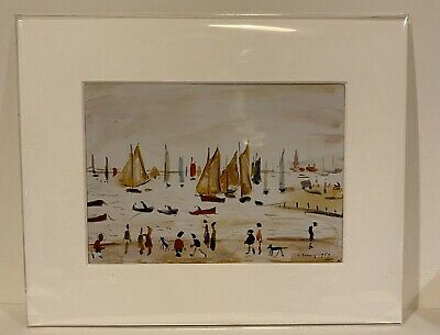 SMALL LS Lowry Prints In Mount Ready To Frame Just £5!!!
