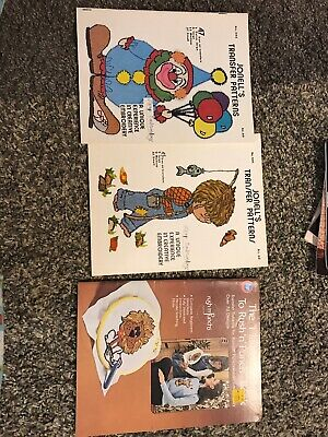 Embroidery Pattern Book Lot