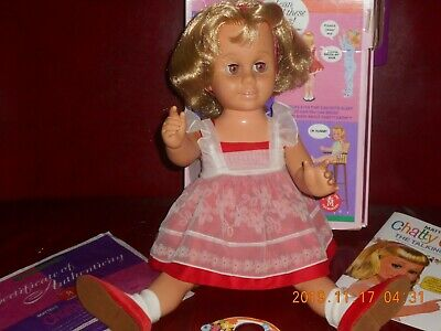 Chatty Cathy Mattel 1998' Reproduction Doll Mint~In~Box