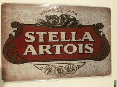 STELLA Tin Sign Bar Shed Garage Man Cave