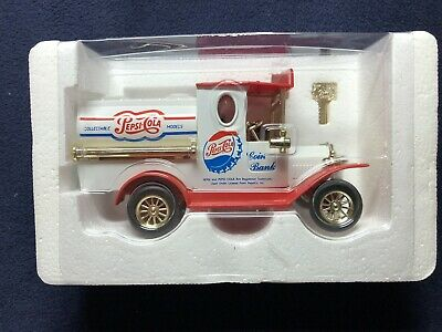 Pepsi Cola Die Cast Coin Bank Limited Edition