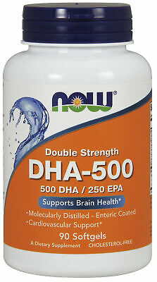 Now Foods DHA-500 - 90 Softgel