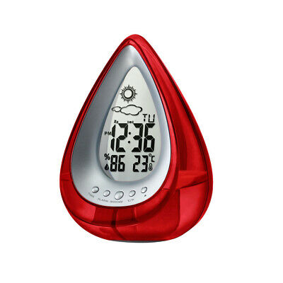 MagiDealMagiDeal Digital Water Powered Alarm Clock Weather Station Thermometer