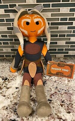 Disney Star Wars Galaxy's Edge Toydarian Toymaker Jedi AHSOKA TANO Plush - New