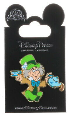 2019 Disney Alice in Wonderland Booster Mad Hatter Pin With Packing Only R2