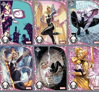 Topps Marvel Collect Digital Ghost-Spider Showcase Set