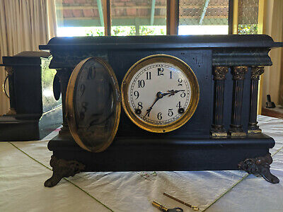 Sessions 8-day mantel clock