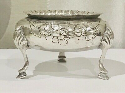 Antique English Queen Victoria Sterling solid silver  bowl , London ,c1866 (#2)
