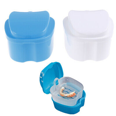1PC Cleaning teeth Case Dental False Teeth Storage Box Container Denture Boxs bc