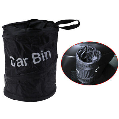 Car Trash Can Portable Garbage Bin Collapsible Waterproof Bag Rubbish BinL bc