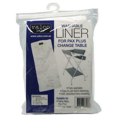 Valco Baby Washable Liner for Pax Plus Change Table, 2 Pack Free Shipping!