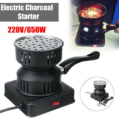 🔥 650W Electric Coal Hookah Starter Shisha Heater Stove BBQ Charcoal Burner AU