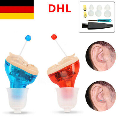 Digital In Ear Hörgerät Einstellbare Sound Amplifier Hearing Aid Höhrgerät NEU
