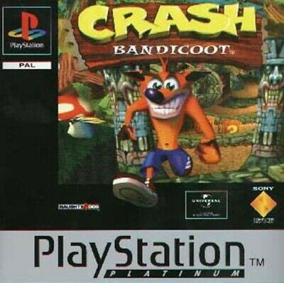 Crash Bandicoot Platinum (sans manual) Playstation 1 jeux games spelletjes 4886