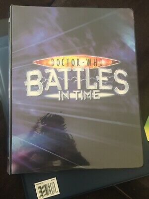 dr Who Battles In Time Card Set Complete 1-825