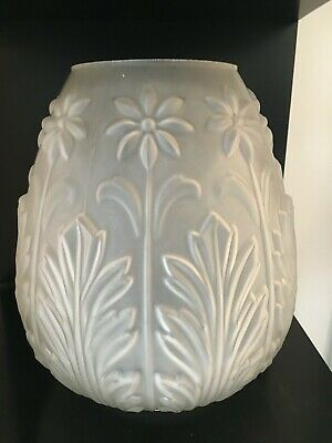 beehive embossed frosted glass oil lamp shade