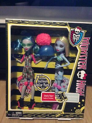 Monster High - Skultimate Roller Maze - Pack Ghoulia et Abbey Bominable