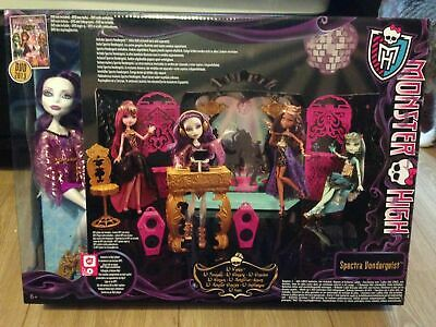 Monster high 13 whishes Coffret Party Lounge + Spectra