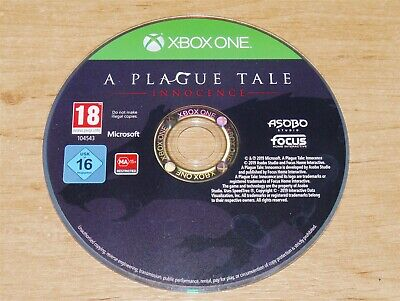 A plague tale Innocence Game disc only for Microsoft XBOX ONE